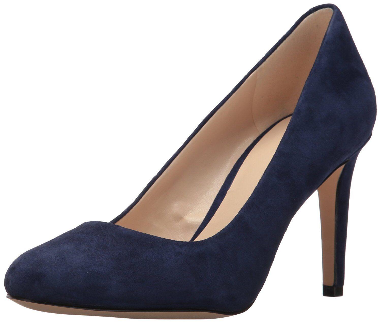 Nine West Women's Handjive Suede, Moody bluee, Size 10.0 US   8 UK
