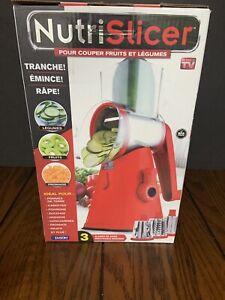 NutriSlicer-Vegetable-amp-Fruit-Slicer-New-in-Box