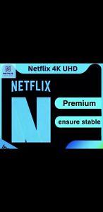 Netflix 4k 1 mouth (leggere descrizione)
