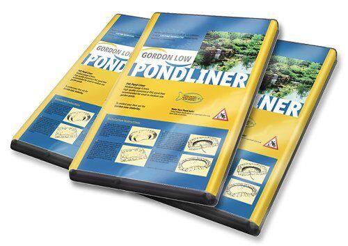 PVC Fish Pond Liner 9' 9'' X 9' 9'' 20 MIL With 15 Yr Guarantee