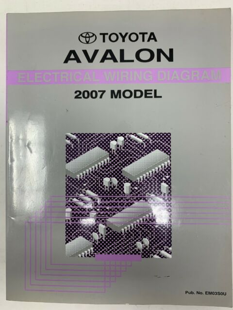 2007 Toyota Avalon Electrical Wiring Diagram Repair Manual