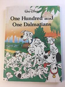 Vintage-Disney-101-Dalmatians-Book-1989-Hardcover-Disney-Classic-Series