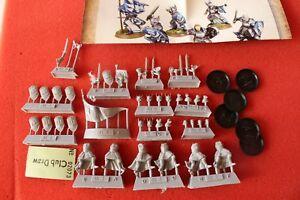 Jeux Atelier Forgeworld Le Seigneur Des Anneaux Foot Knights Dol Amroth 6 Modèles