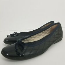 Black French Sole Madonna Leather Flat 7