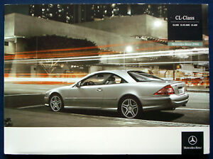 Prospekt brochure 2006 Mercedes Benz CL Class 55 AMG (USA) - Bad Wünnenberg, Deutschland - Prospekt brochure 2006 Mercedes Benz CL Class 55 AMG (USA) - Bad Wünnenberg, Deutschland
