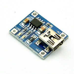 5pcs TP4056 1A Lithium Battery Charging Board Charging Module Mini USB Interface
