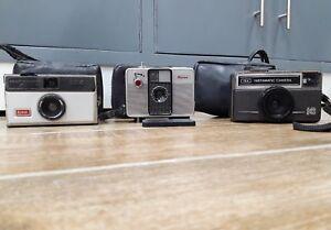 Kodak-and-ricoh-vintage-camera