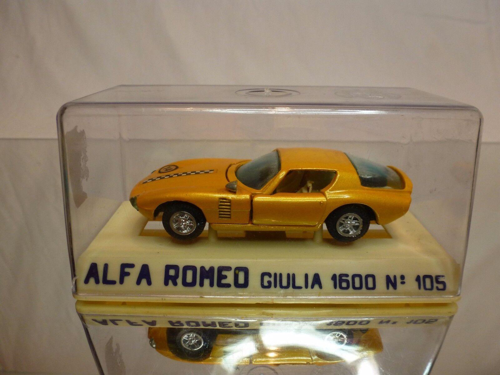 JOAL 105 ALFA ROMEO GIULIA 1600 CANGURO - METALLIC 1 43 - EXCELLENT IN BOX