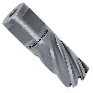 HSS-XE-Kernlochbohrer-12-38mm-Weldon-Metall-Schnitttiefe-25mm-Ausw-Auswerfstift