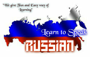 LEARN RUSSIAN FAST -THE MOST COMPLETE & COMPREHENSIVE LANGUAGE COURSE ON DVD