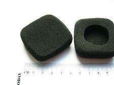 2 Ohrpolster aus Schaumstoff passt zB. an Bang & Olufsen Form 2  B&O rechteckig