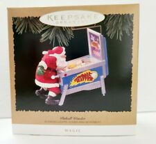 RARE Hallmark Magic Keepsake Ornament 1996 Pinball Wonder QLX7451