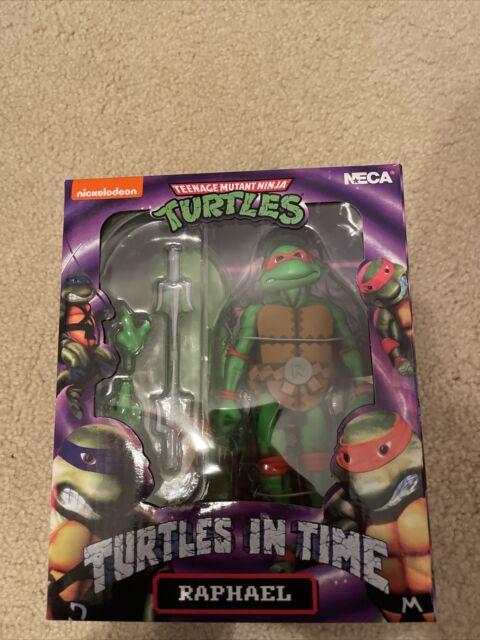 Neca TMNT Teenage Mutant Ninja Turtles in Time Raphael Action Figure MIB