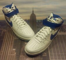 Nike Air Force 1 Hi Retro QS White/Game Royal Size 9 Low High 743546 103 New