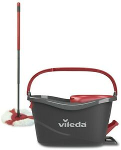 Details About Vileda Easy Wring And Clean Turbo Mop And Bucket Set