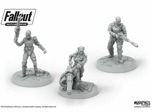 Ack Ack Sinjin /& Avery Miniatures Wasteland Warfare Fallout