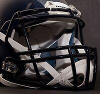 SEATTLE SEAHAWKS Riddell Speed S2BD-SP Football Helmet Facemask (NAVY BLUE)