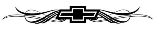 "Large 11/"" Chevy Chevrolet Tribal die cut vinyl decal sticker Boat window car"