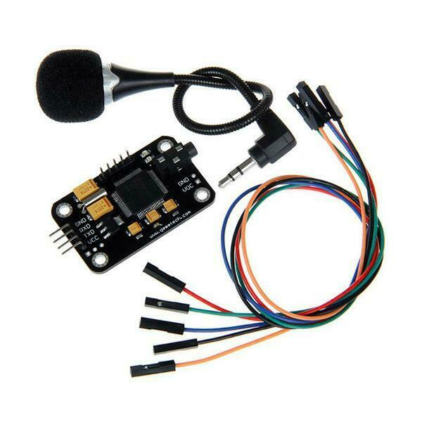 Geeetech® Voice Recognition Module with Microphone Control Voice Board For