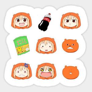 Umaru Chan Vinyl Decal Laptop Bumper Sticker Adorable umaru Chibi from Himouto