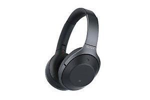 Sony 1000x Wireless Noise Cancelling Headphones - Black