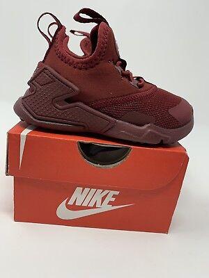 Nike Huarache Drift Shoes Size 9C AA3504-600 TODDLER BOYS Red