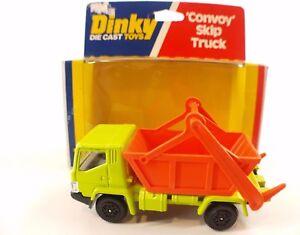 Dinky-toys-GB-n-380-Convoy-skip-Truck-camion-benne-neuf-en-boite-mint