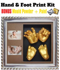 3D Handprint Picture Frame