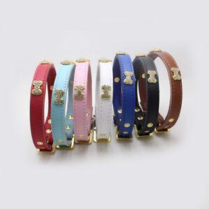 LC-Ba-Regulable-Collar-de-Perro-Gato-Pedreria-Crown-Hueso-Deco-Piel
