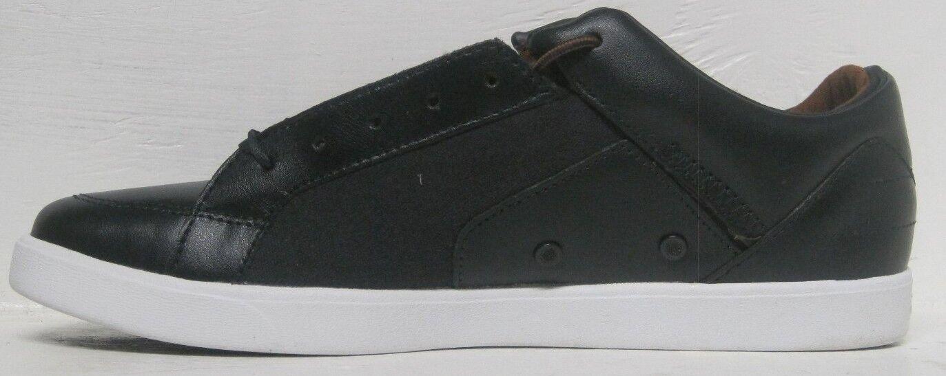 Diamond supply footwear  v v s navy brown-canvas shoes men's sz 12 us