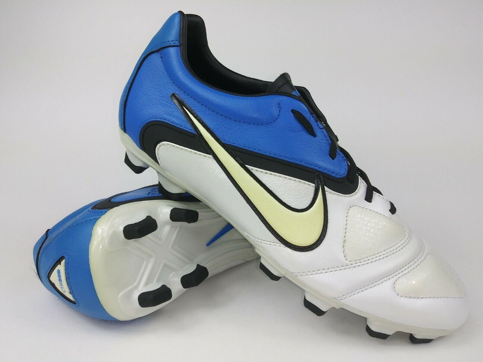 Nike Mens Rare CTR360 Libretto llFG 428731-104 Blau Weiß Soccer Cleats Stiefel
