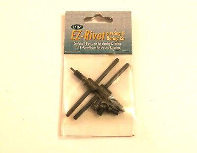 "Beadsmith Ez-rivet 3//32/"" Metal Hole punch And Rivet Tool Kit Accessory set"