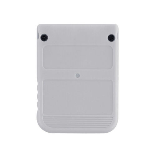 White 1 MB 1MB Memory Card Stick For Playstation 1 One PS1 PSX Gam  L2KS