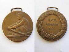 Deutsches Reich 1926 Medaille Ruderverein Waldsee Original selten!
