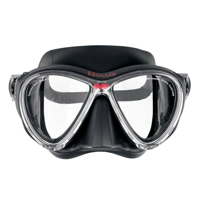 Hollis M3 Masque De Plongée Masque Deux Verres Masque De Plongée
