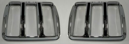 Pair 1964 1965 1966 Ford Mustang Tail Light Lenses Bezels Gaskets FoMoCo
