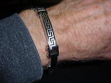 "Park Lane Jewelry, ""SPARTAS"" Wrist Chain Bracelet, For Him, Stainless Steel, New"