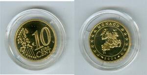 Monaco 10 Cent 2004 Pp Seulement 14.999 Pièce 9n1no0fb-08004729-624843703
