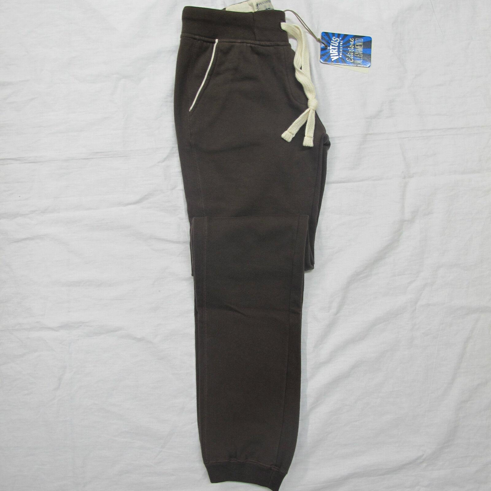 VIRTUS PALESTRE pantaloni donna felpa art.C2VP1900590D col.MarroneeE tg.L INV.'13