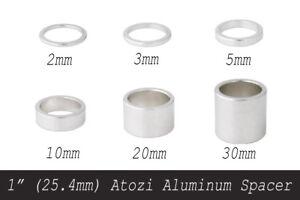 1-034-25-4mm-Atozi-Aluminum-Bike-Headset-Stem-Spacer-Kit-2-3-5-10-20-30mm-Silver