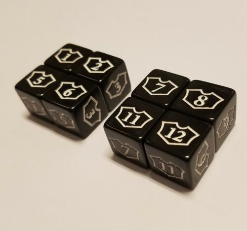 8x Planeswalker 16 & 712 Loyalty Dice for Magic The Gathering MTG CCG quEmpire