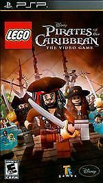 New/Sealed LEGO Pirates of the Caribbean The Video Game PlayStation Portable PSP