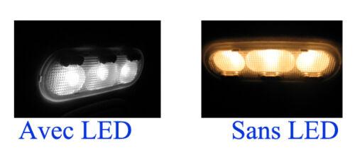 PACK BMW F25 X3 KIT 12 Ampoules LED blanc plafonnier Sols tapis  Portes Coffre