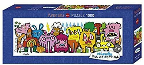 In The Park Burgerman Heye-29455 Heye Puzzle Classique 1000 Pieces
