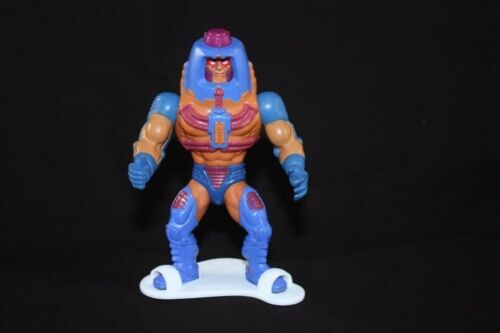 Masters of the universe vintage motu figure stands display toy heman man e faces
