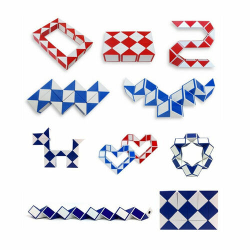MINI SNAKE PUZZLE MAGIC CUBE BOYS GIRLS FIDGET TOY BIRTHDAY PARTY BAG FILLERS