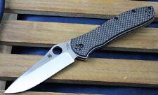 SC134CFP2 Spyderco Bradley Linerlock 2 CPM-M4 Blade Carbon fiber/G-10 Handles