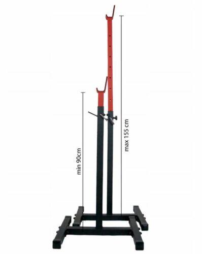 Hantelständer Genesis Hantelablage Langhantelablage Langhantelständer 90-155 cm