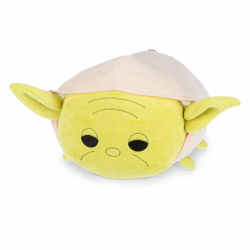 "Star Wars Medium 12/"" Yoda Tsum Tsum Plush Disney Store"