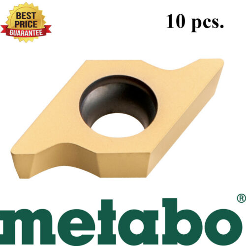 Metabo 623562000 3mm-1//8 in Radius Cutting Carbide Insert Accessory 10 pcs New